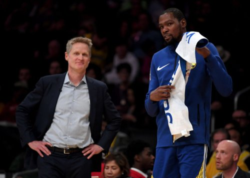 Steve Kerr's Comment About Kevin Durant, Michael Jordan Is Going Viral