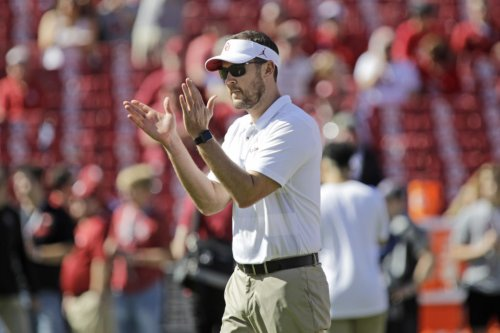 Lincoln Riley Reacts To Oklahoma Winning Women's College World Series