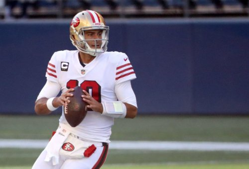 """Jimmy Garoppolo Says There's """"Good Possibility"""" He'll Contact Aaron Rodgers About NFL Future"""