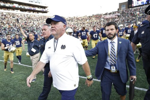 Brian Kelly Reacts To Death Of Longtime Notre Dame Reporter