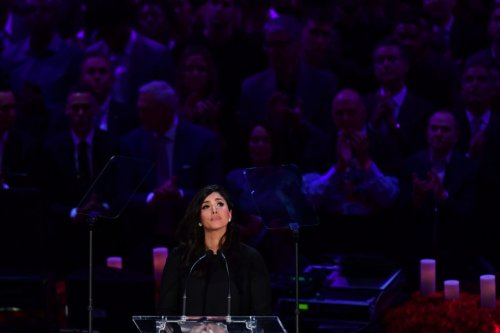 NBA World Reacts To Vanessa Bryant's Hall Of Fame Speech