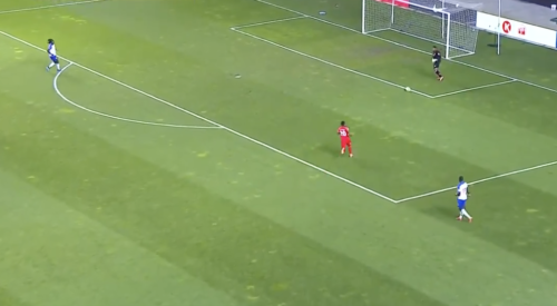 Look: Goalie Gives Up Horrible Own Goal In Haiti-Canada Game