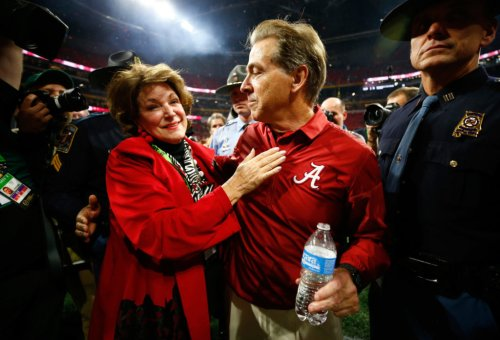 Nick Saban's Story About Pursuing His Wife Goes Viral