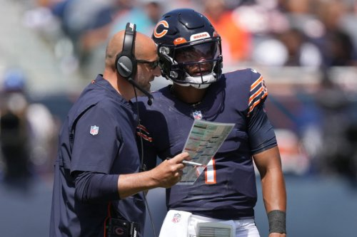 Matt Nagy's Comment About Justin Fields Is Going Viral