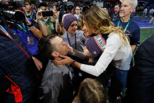 Look: Tom Brady Responds To Gisele's 'Trade' Suggestion
