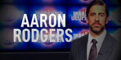 Aaron Rodgers Sends Message After Hosting Jeopardy! This Week