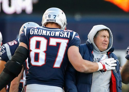 Rob Gronkowski Sums Up Relationship With Patriots Coach Bill Belichick