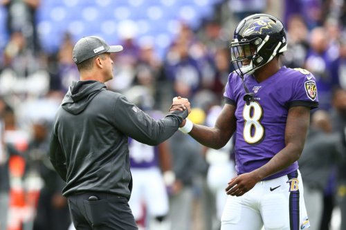 John Harbaugh's Story About Lamar Jackson Incident Going Viral