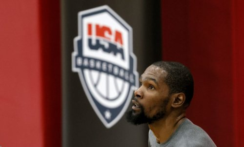 Video Of Kevin Durant During Olympics Opening Ceremony Is Going Viral