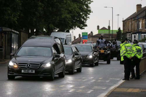 Danny Irons funeral: Heartbroken family and friends form procession through Sheffield