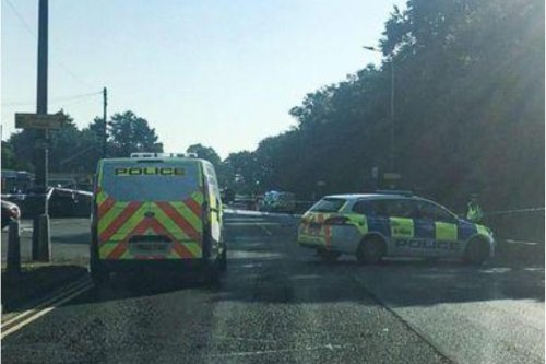 Busy road closed in both directions and buses diverted due to police incident