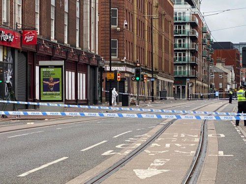 Tram services back to normal after West Street stabbing road closures