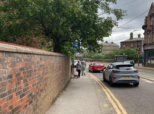 Man fined £30 for driving in Sheffield bus lane after sign 'hidden by overgrown tree'