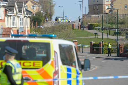 Huge police cordon in place next to playground on Sheffield estate as murder probe is launched