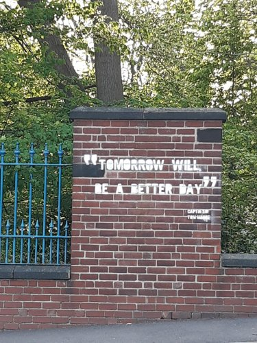 Mystery as Captain Sir Tom Moore graffiti appears around Sheffield