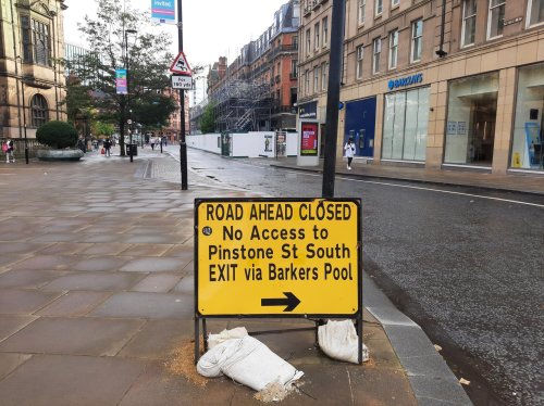 Councillors debate Sheffield's Pinstone Street for hours – but still no decision on whether it will reopen