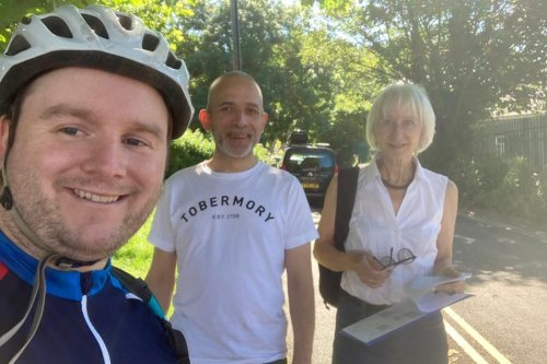 Letter: Sheaf Valley cycle route