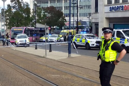 Man injured in Sheffield city centre attack, according to witness