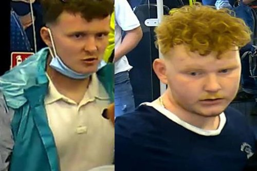 Men wanted for police questioning over fight on board train from Sheffield