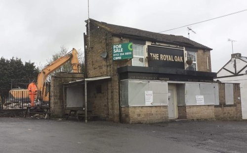 Objections pour in over Sheffield pub knocked down without planning permission