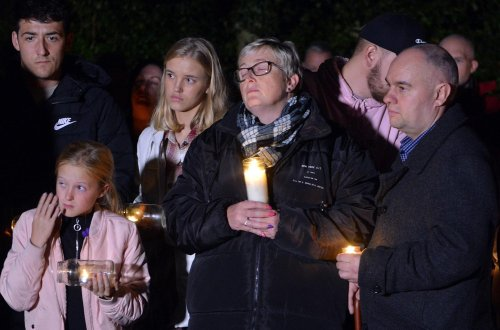 Gracie Spinks' devastated relatives remembered her in a vigil on what would have been her birthday