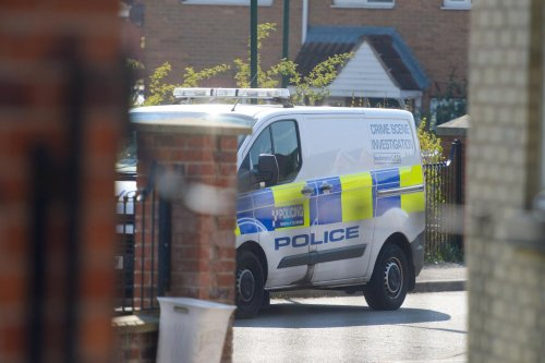 Video shows scale of police operation on Sheffield estate after murder of man, 32