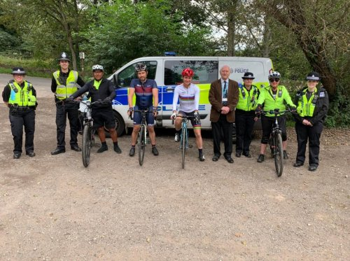 Police 'depressed' at bad driving after one hour 'close pass' cycling operation on the Snake Pass