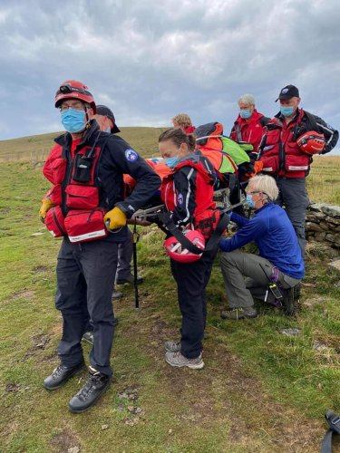 Walker taken to hospital after being 'butted' by cow in Peak District