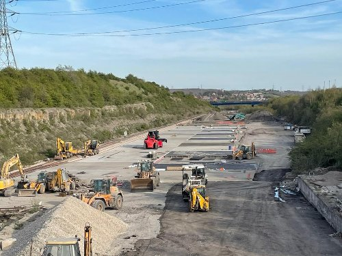 Sheffield transport firm builds new railhead on historic site to cut carbon emissions
