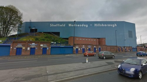Fans were denied entry to the stadium and escorted out of Sheffield by the police