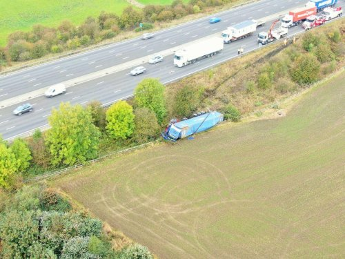 Severe queues across Sheffield tonight as clear up operation for M1 lorry crash continues