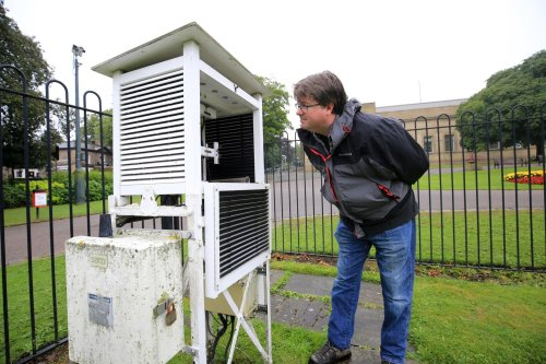 This is how Sheffield's weather station has evolved over time and its important role in recording climate change