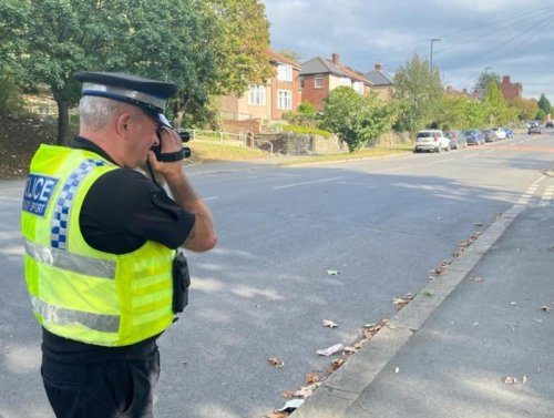 Speeding fines and licence points dished out as Sheffield cops get tough near school