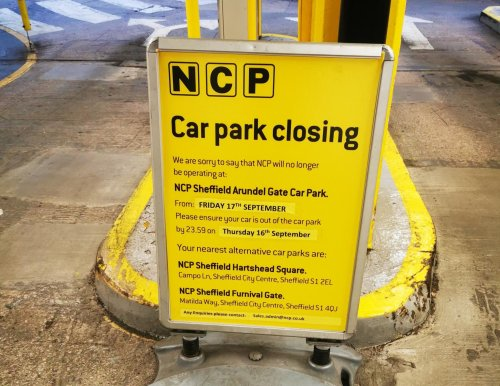 Mystery surrounds sudden closure of Sheffield car park
