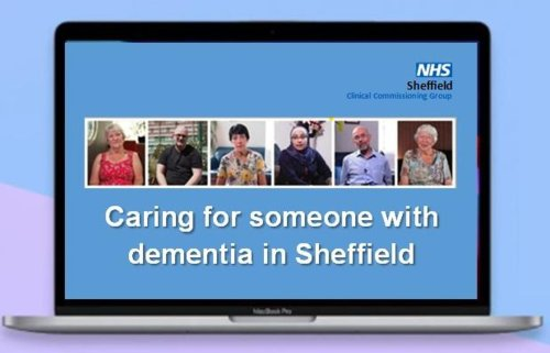 Video launched to support carers of people with dementia in Sheffield