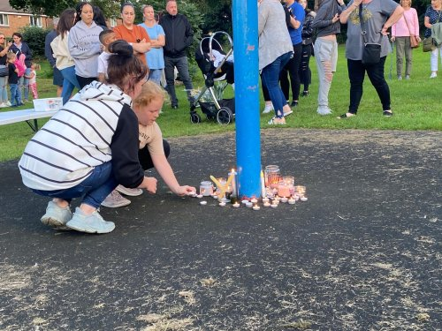Killamarsh tragedy: Hundreds gather to pay their respects at vigil for those who have died