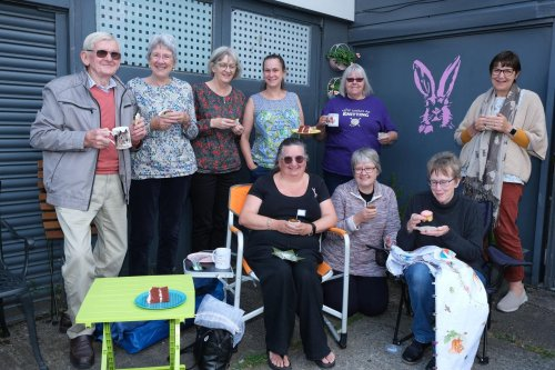 Big-hearted Sheffield residents enjoy a cuppa and cake - all for a good cause