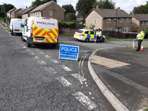Dozens of police on scene as 'serious incident' investigated in village near Sheffield