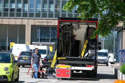 Film crews spotted in Sheffield and Daniel Craig could be on set