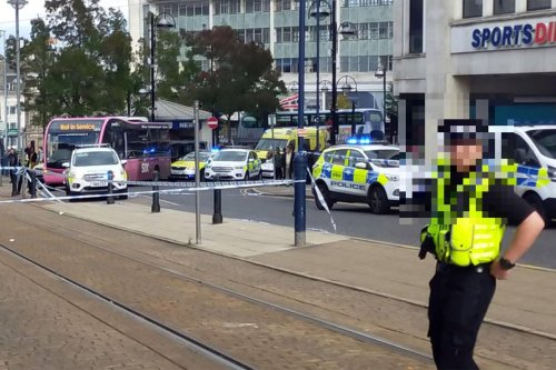 Double stabbing causes travel disruptions in Sheffield