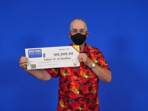 'Lucky' Hamilton man wins big lotto prize twice in one year
