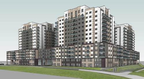 Plan for 12-storey apartment towers draws questions from Waterloo councillors