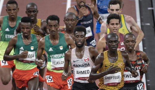 Opinion   Canada's Moh Ahmed takes his best shot in the Tokyo 10,000 but can't hang on to late lead