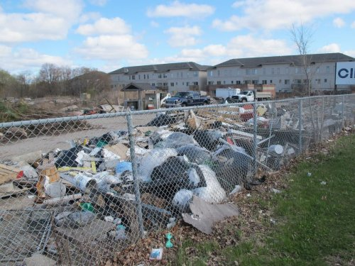 Richmond Hill seems in no hurry to deal with this property covered with junk