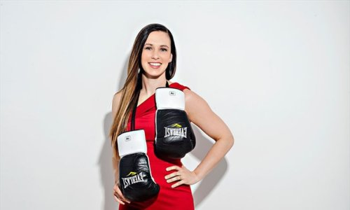 Waterloo Region Olympic boxer Mandy Bujold launches monthly subscription box