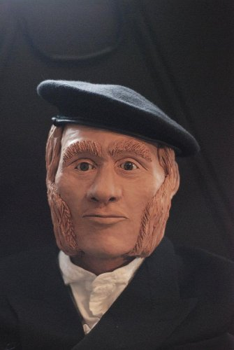 Putting a human face on the bones of the dead: Forensic artist made the bust of recently identified engineer on doomed Franklin expedition