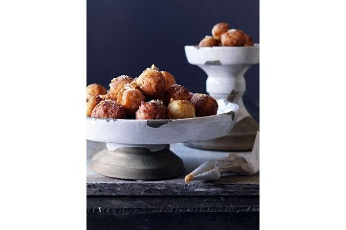 Celebrate Mother's Day with some delicious dulce de leche beignets