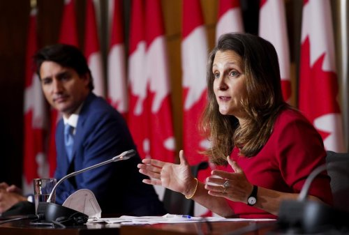 CRB, wage and rent subsidies will all end on Saturday, Chrystia Freeland confirms