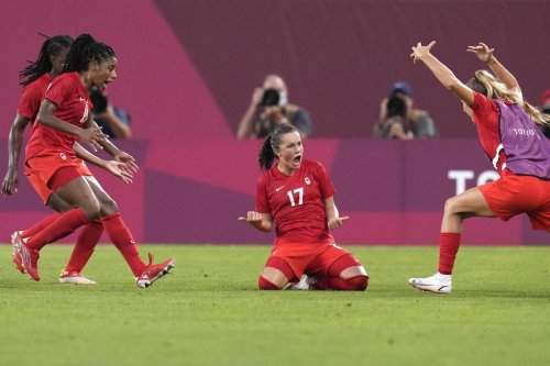 Opinion   Canada slays the U.S. beast and exorcises ghosts of Olympics past. Now they're going for women's soccer gold in Tokyo