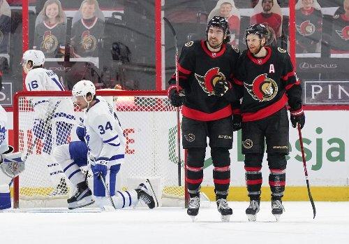 Senators take the final battle with Maple Leafs but, hey, nobody got hurt
